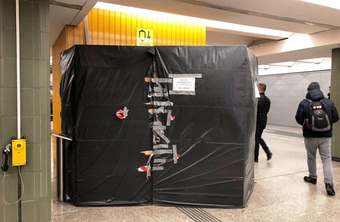 Metro wymienia windy. Na trzech stacjach jednocześnie