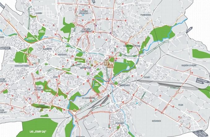 W 2019 r. Lublin wybudował blisko 19 km dróg i pasów rowerowych