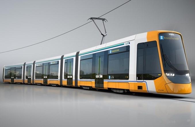 Stadler dostarczy 14 tramwajów do Darmstadt
