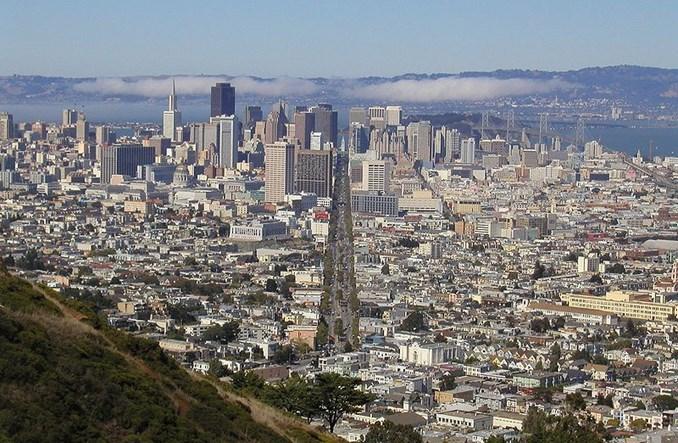 San Francisco. Najważniejsza ulica miasta bez aut. Wielki buspas