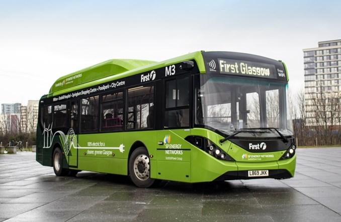 Glasgow. Autobusy elektryczne pół wieku po likwidacji trolejbusów