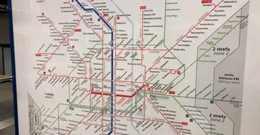 Problem ZTM-u z informacją w metrze