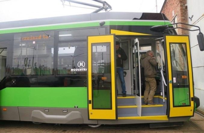 Elbląg pokazuje nowe tramwaje Modertransu oraz z Łodzi