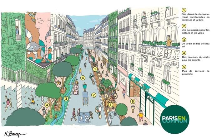 """Czy Paryż stanie się """"piętnastominutowym"""" miastem?"""