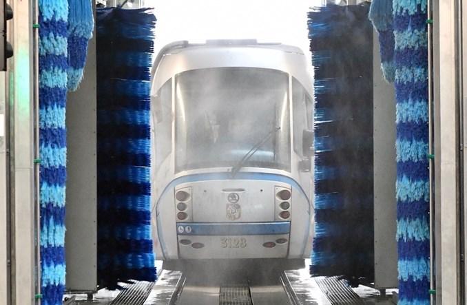 MPK Wrocław z automatyczną myjnią tramwajową