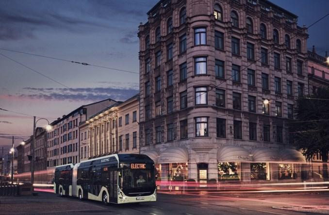 Malmo. Volvo dostarczy 60 elektrycznych przegubowców