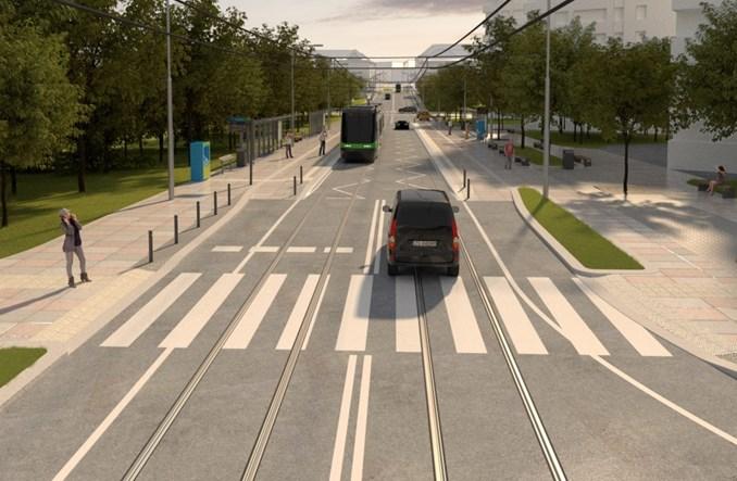 Szczecin przebuduje trasę tramwajową od Niebuszewa do pl. Żołnierza Polskiego [wizualizacje]