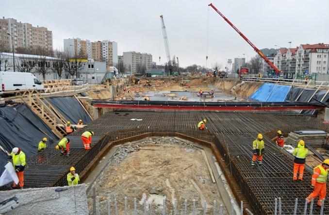 Metro na Bemowo: Budowa schodzi na poziom -1