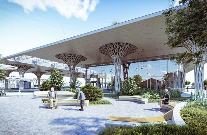 Lublin ogłasza przetarg na wielki dworzec autobusowy [wizualizacje]