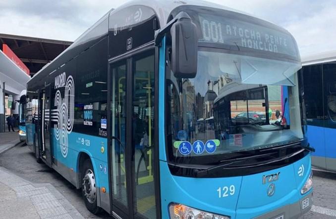 Madryt chce kupić 50 kolejnych autobusów elektrycznych
