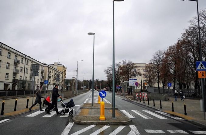 Warszawa: Inwestycje i remonty w 2020 r. dla pieszych i rowerzystów