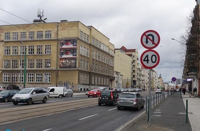 """Poznań: """"Czterdziestką"""" po śródmiejskiej części ul. Głogowskiej. By było bezpieczniej"""