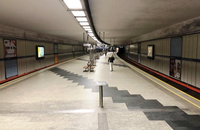 W majówkę metro tylko na trasie Młociny – Politechnika