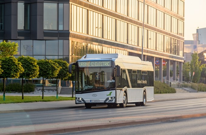 Bielany kupią szkolny elektrobus Solarisa?