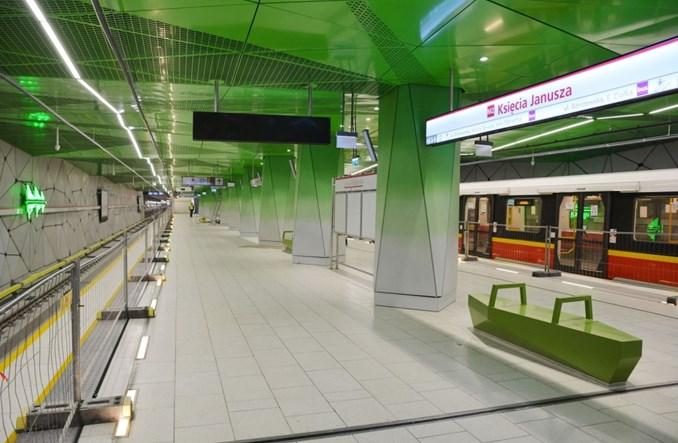Metro na Wolę do stacji Księcia Janusza z pozwoleniem na użytkowanie