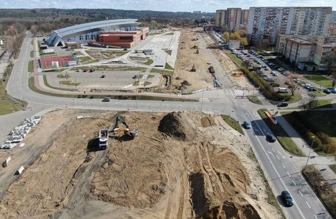 Szczecin: Przebudowa Szafera z lotu ptaka. Tędy pojedzie tramwaj