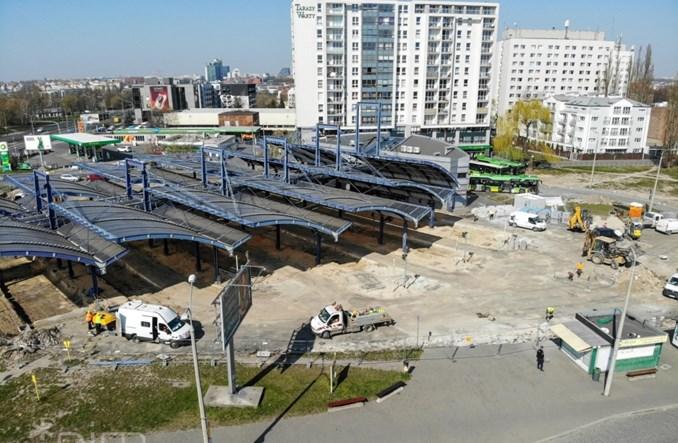 Poznań: Trwają prace remontowe przy dworcu Rataje