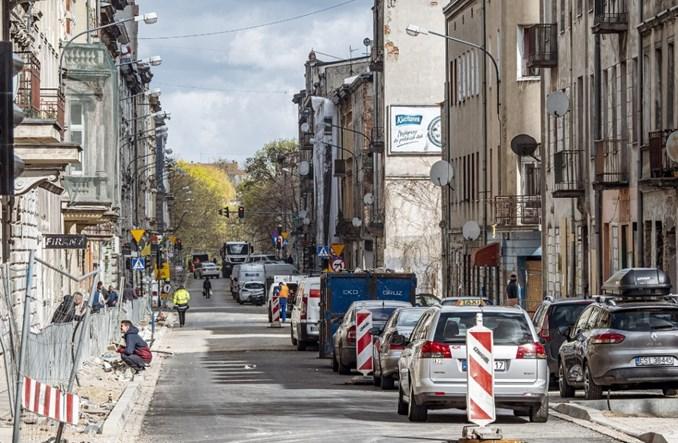 Łódź: Opóźniona przebudowa Wschodniej ma się ku końcowi