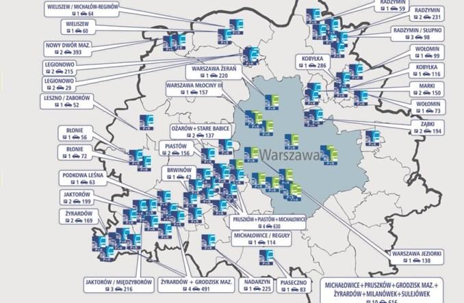 Kolejne parkingi P+R w metropolii warszawskiej powstaną w Legionowie