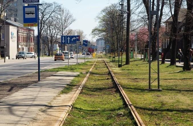 Ruszyły prace na świętochłowickim odcinku linii tramwajowej nr 11