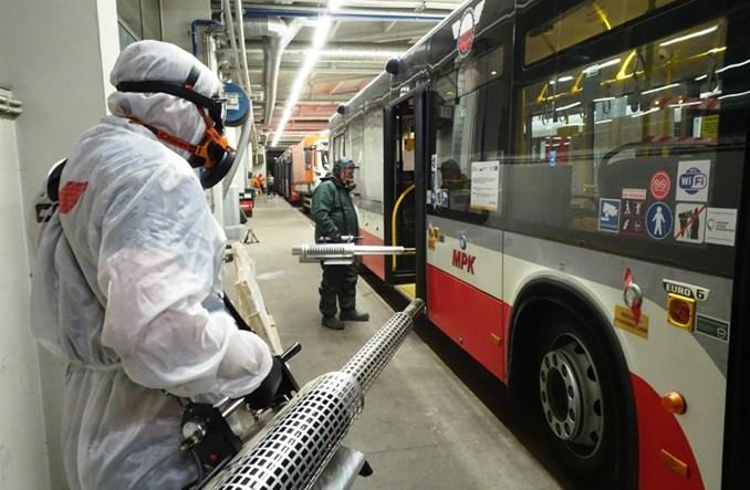 Częstochowa: Odkażanie miejskich tramwajów i autobusów
