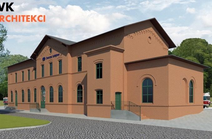Kto przebuduje dworzec Pobiedziska? Są oferty [wizualizacje]