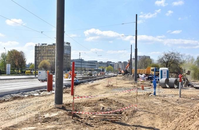 Poznań: Budowa tramwaju na ul. Unii Lubelskiej zgodnie z planem