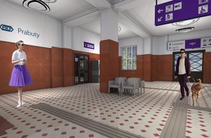 Przebudowa dworca w Prabutach nabiera rozpędu