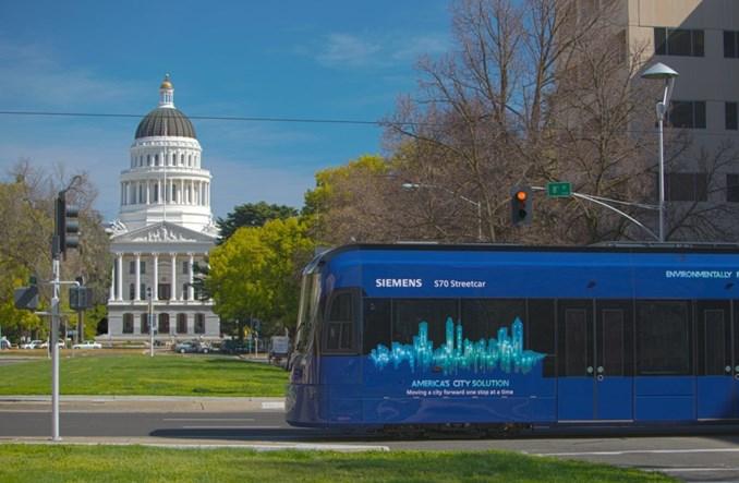 Siemens Mobility dostarczy 20 pojazdów dla lekkiej kolei w Sacramento