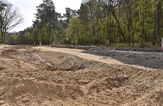 Szczecin: Węzeł Głębokie – postępują prace