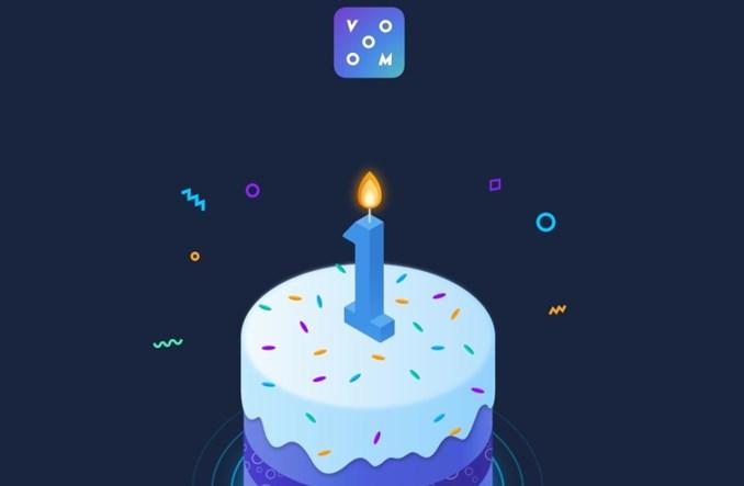 Bezpłatny dostęp dla firm na pierwsze urodziny Vooom