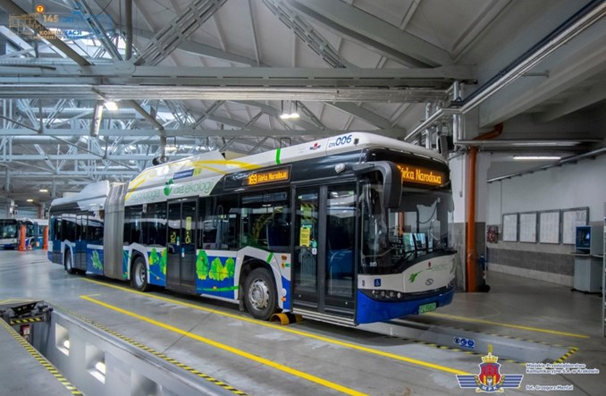 Kraków: Nowy elektrobus wyjechał na ulice
