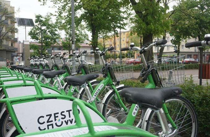 Częstochowski Rower Miejski znowu dostępny. Zalecane rękawiczki
