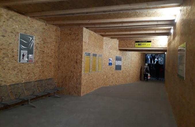 Dworzec tymczasowy w Tczewie już otwarty