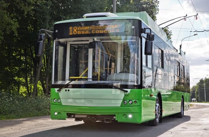 Bogdan Motors dostarczy 49 trolejbusów do Charkowa