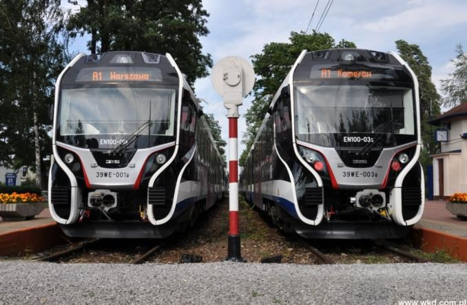 W pociągach WKD pojawi się 160 ekranów reklamowych