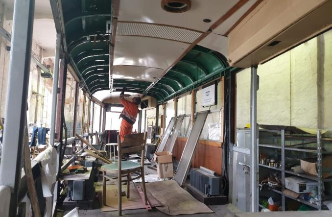 Łódź: Zbiórka na remont wagonu 5N
