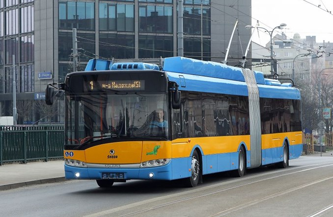 Sofia: Kolejne 30 trolejbusów Skoda-Solaris