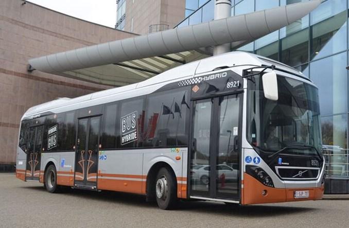 Volvo dostarczy 128 hybrydowych autobusów do Brukseli