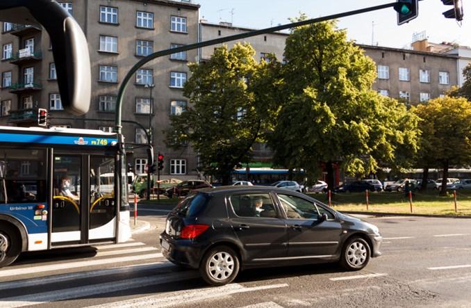 Kraków zmierzył ruch. O 30-40% mniej