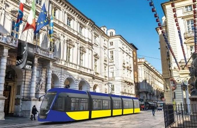 Nowym tramwajem na mecze Juventusu. GTT i Hitachi dostarczą 70 pojazdów dla Turynu