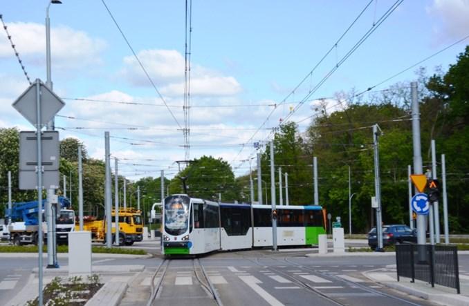 Szczecin: Koniec robót na Arkońskiej. Pierwsze testy tramwajów