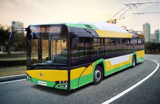 Żylina z bateryjnymi trolejbusami Škoda-Solaris