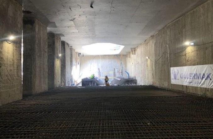 Kamień węgielny na budowie metra na Bemowo. To najkrótszy odcinek II linii