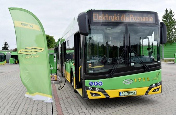 MPK Poznań podpisał umowę z Solarisem na 37 elektrobusów