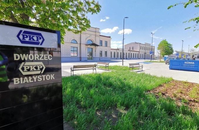 Dworzec w Białymstoku na finiszu. Piękne wnętrza [zdjęcia]