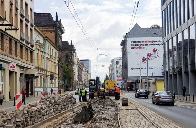 MPK Wrocław bierze się za kolejne rozjazdy