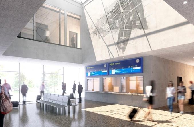 Dworzec w Chełmie odzyska modernistyczny charakter [wizualizacje]