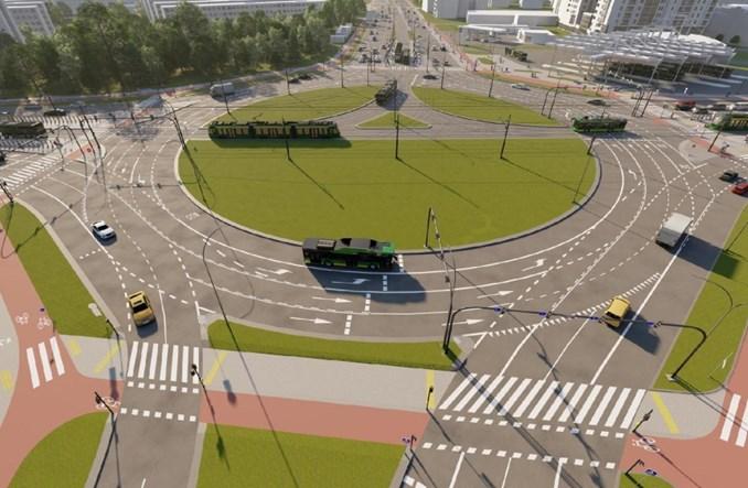 Poznań. Przebudowa ronda Rataje rozpocznie się latem