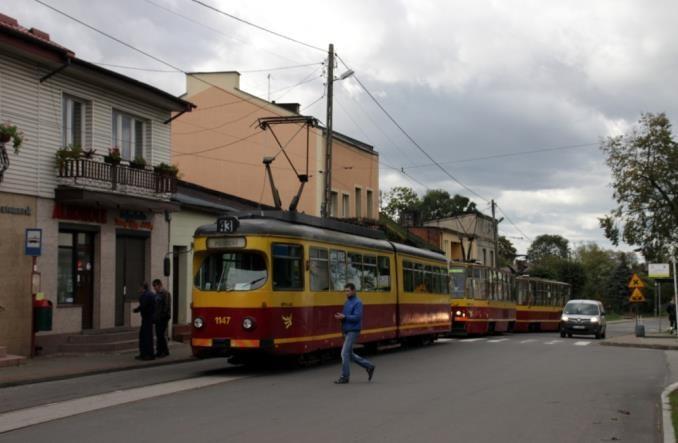 Lutomiersk: Tramwaj uzyskał finansowanie w ramach... CPK
